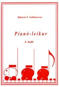 728012 Pianoleikur 3. hefti
